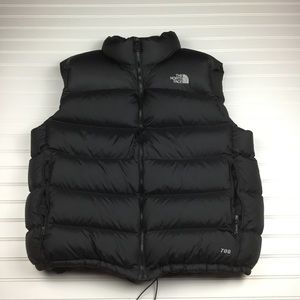 The North Face 700 Black Goose Down Puffer Vest XL
